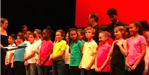 Melismes à l'école Champion de Cicé - #1 : exploration polyphonique avec les enfants / Opéra de Rennes | Opéra de Rennes