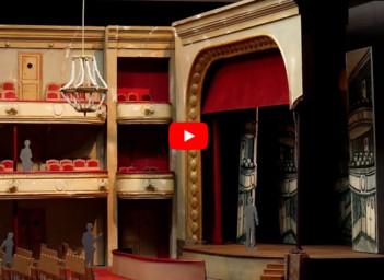 La création d'un décor d'opéra - Étape 1  