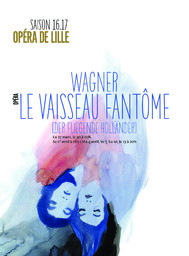 Programme de salle : Le Vaisseau Fantôme. 2016/2017 |
