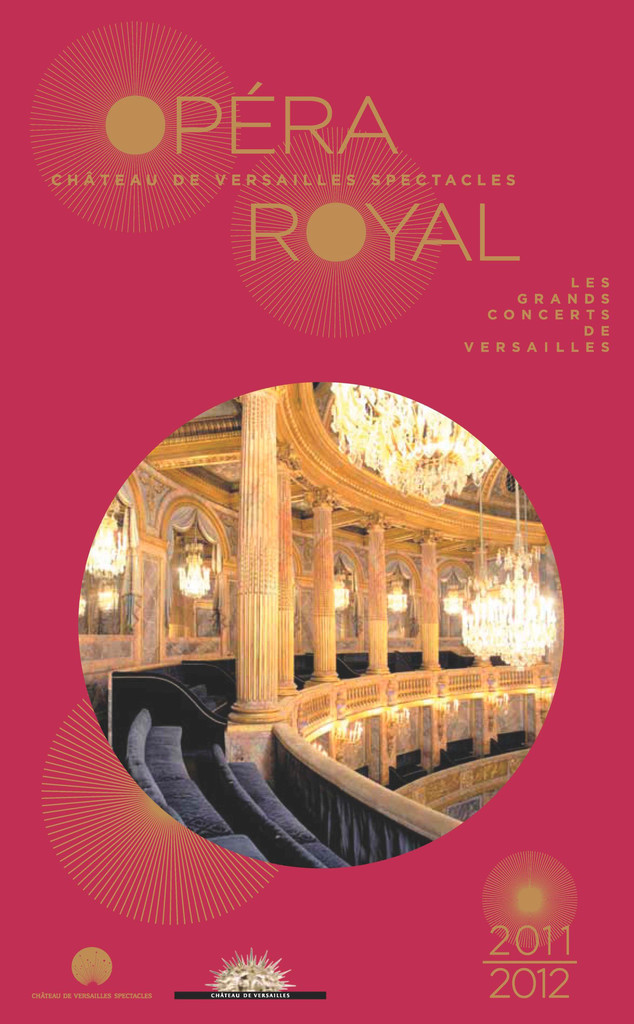 Programme de Salle : Orphée et Eurydice. 2011/2012, Opéra royal de Versailles  