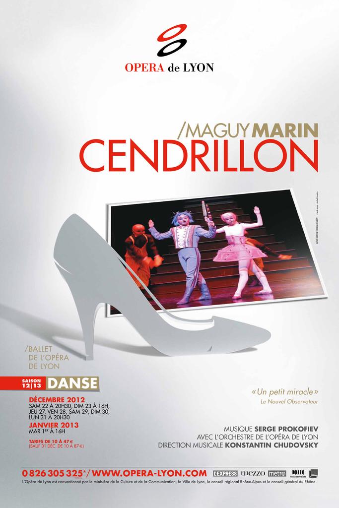 Affiche : Cendrillon. 2012/2013, Opéra national de Lyon |