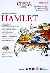 Programme de Salle : Hamlet. 2009/2010, Opéra de Marseille |