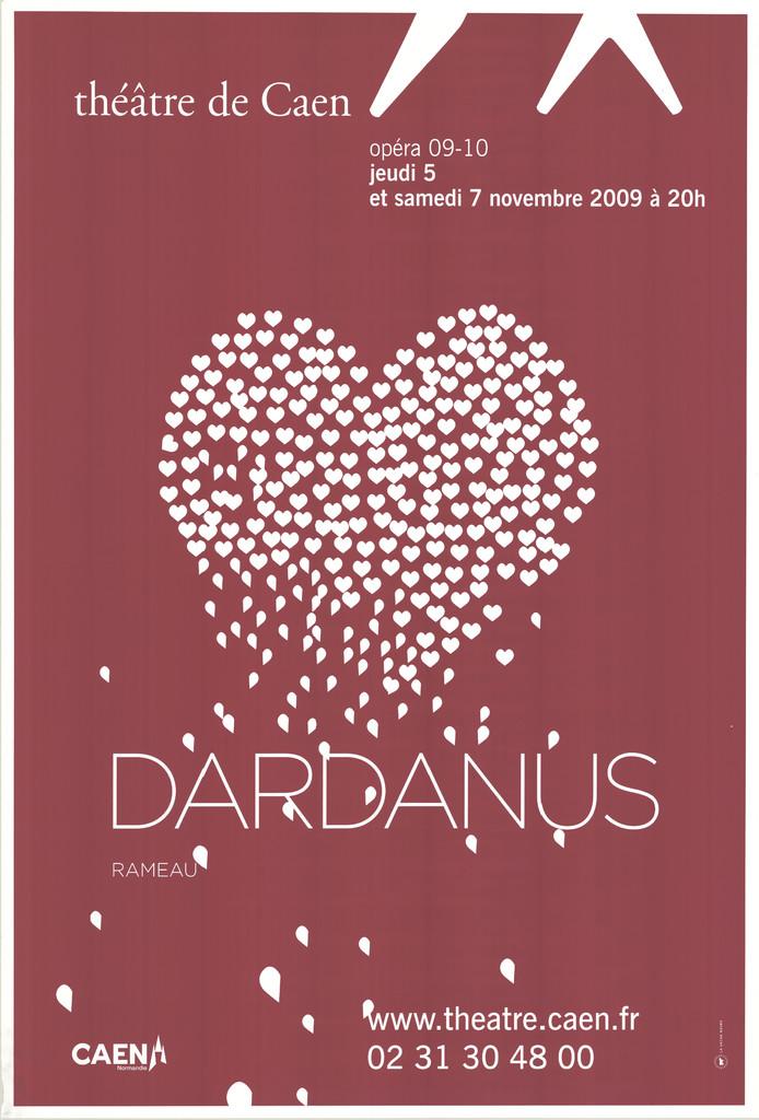 Affiche : Dardanus. 2009/2010, Théâtre de Caen |