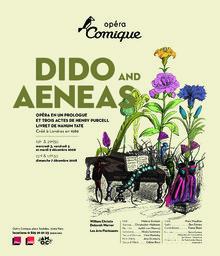 Affiche : Dido and Æneas. 2008/2009, Théâtre national de l'Opéra-comique  