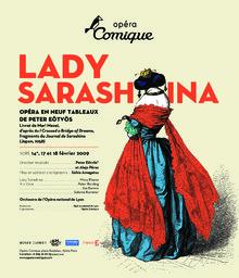 Affiche : Lady Sarashina. 2008/2009, Théâtre national de l'Opéra-comique |