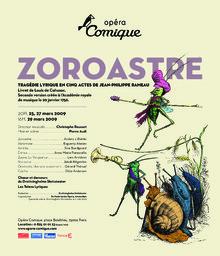 Affiche : Zoroastre. 2008/2009, Théâtre national de l'Opéra-comique |