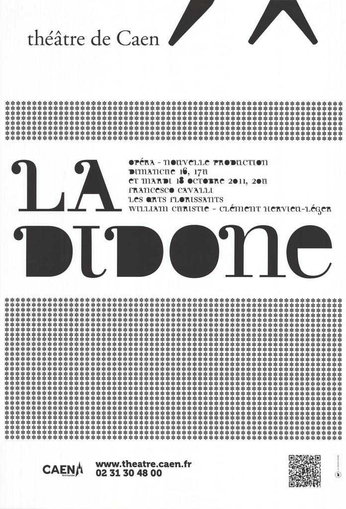 Affiche : Didone (La). 2011/2012, Théâtre de Caen |
