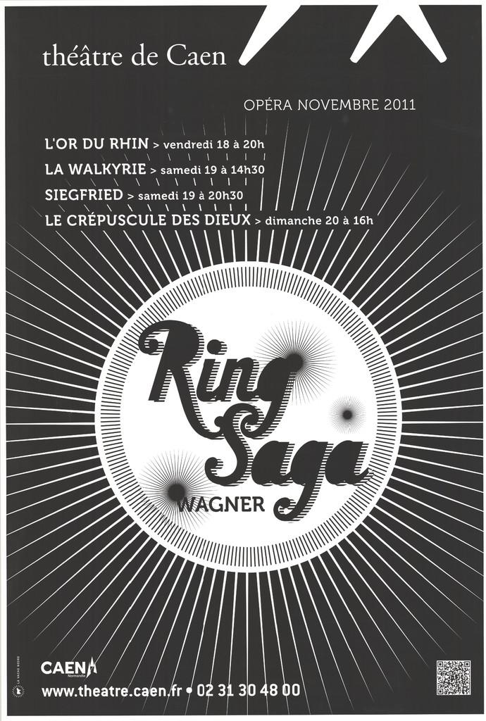 Affiche : Crépuscule des dieux (Le). 2011/2012, Théâtre de Caen |