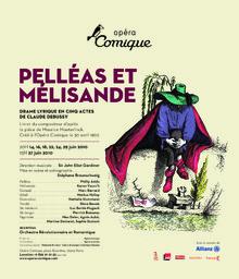 Affiche : Pelléas et Mélisande. 2009/2010, Théâtre national de l'Opéra-comique |