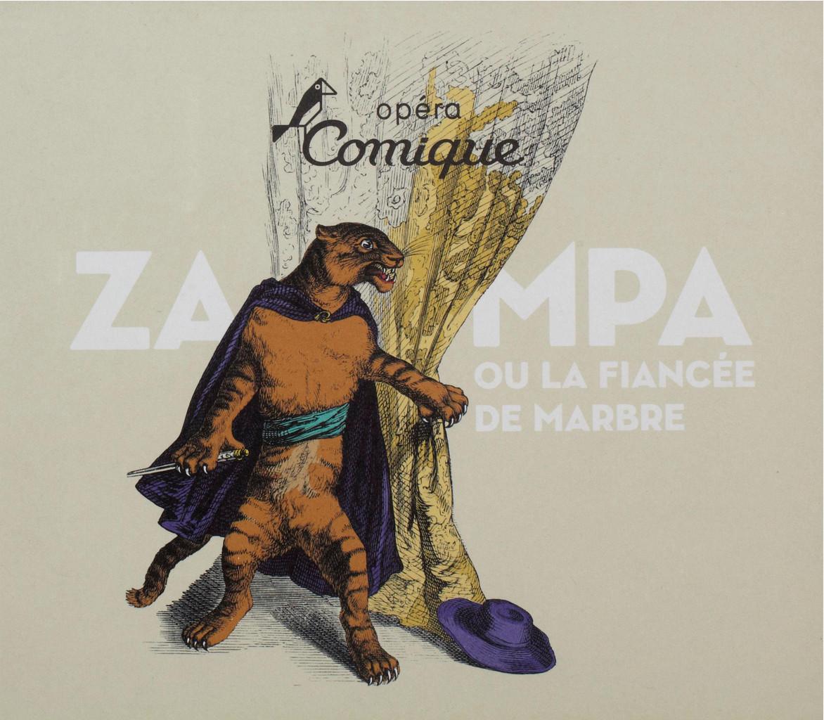 Programme de Salle : Zampa. 2007/2008, Théâtre national de l'Opéra-comique  