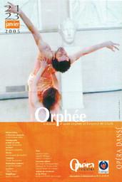 Affiche : Orphée et Eurydice. 2004/2005, Opéra Théâtre de Limoges |