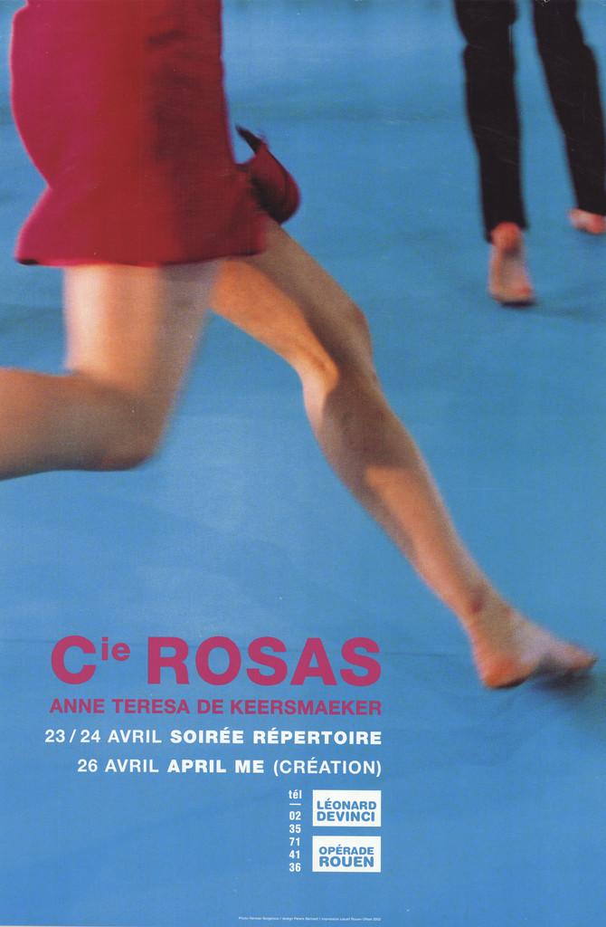 Affiche : April me. 2001/2002, Opéra de Rouen Haute-Normandie |