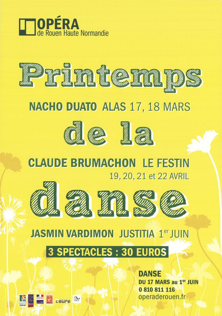 Affiche : Alas : Festin (Le) : Justitia. 2009/2010, Opéra de Rouen Haute-Normandie |