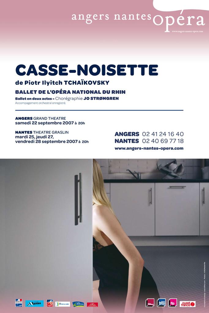 Affiche : Casse-Noisette. 2007/2008, Angers Nantes Opéra |