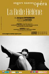 Affiche : Belle Hélène (La). 2008/2009, Angers Nantes Opéra  