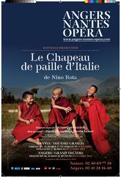 Affiche : Chapeau de paille d'Italie (Le). 2012/2013, Angers Nantes Opéra  