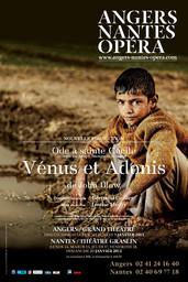 Affiche : Vénus et Adonis. 2012/2013, Angers Nantes Opéra |