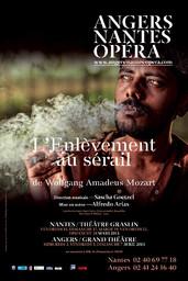 Affiche : Enlèvement au Sérail (L'). 2012/2013, Angers Nantes Opéra |
