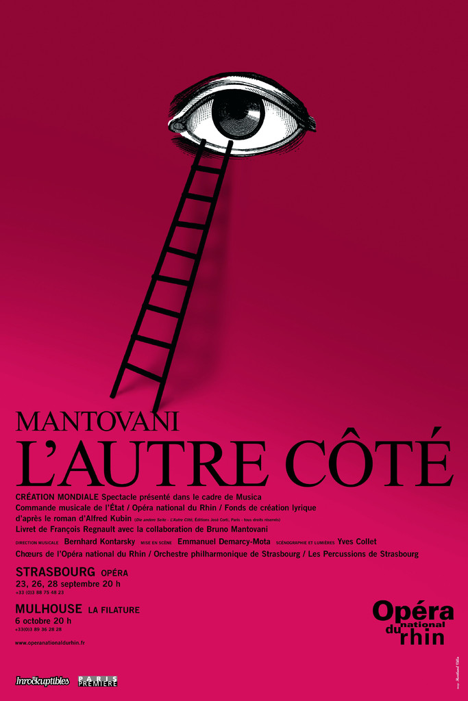 Affiche : Autre Côté (L'). 2006/2007, Opéra national du Rhin |