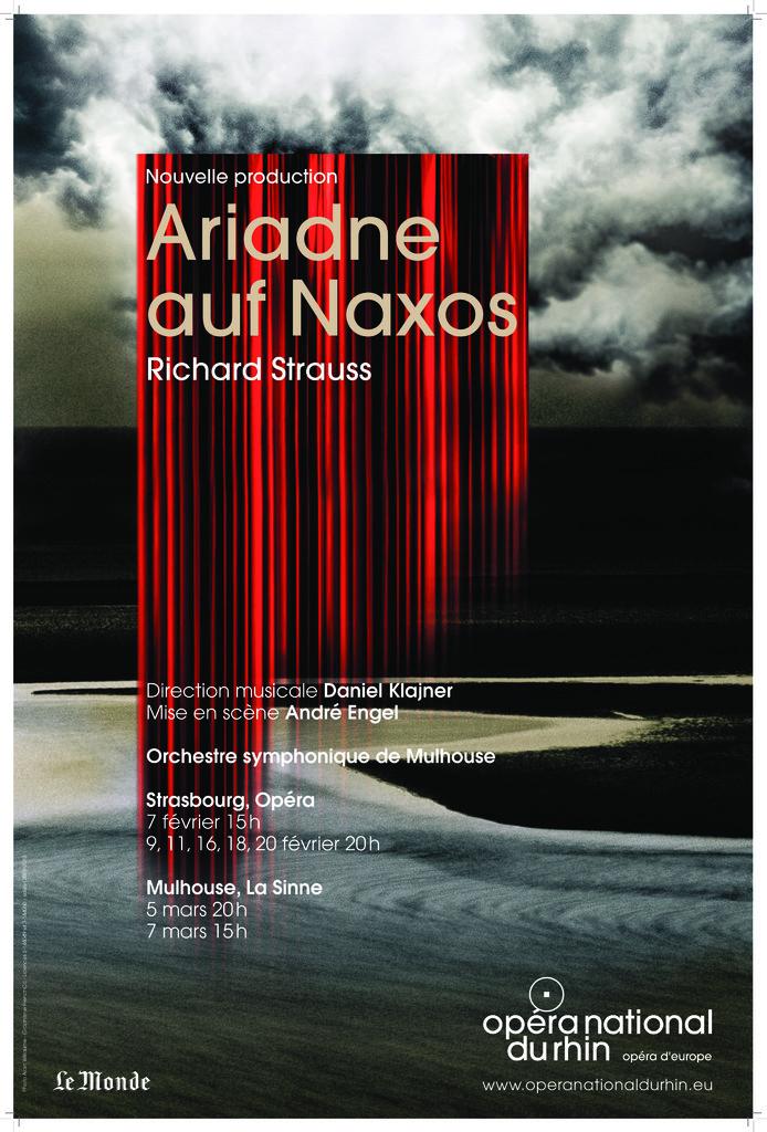 Affiche : Ariadne auf Naxos. 2009/2010, Opéra national du Rhin |