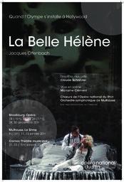 Affiche : Belle Hélène (La). 2010/2011, Opéra national du Rhin |
