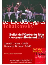 Affiche : Lac des cygnes (Le). 2005/2006, Opéra de Reims |