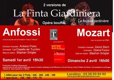 Affiche : Finta Giardiniera (La). 2005/2006 |