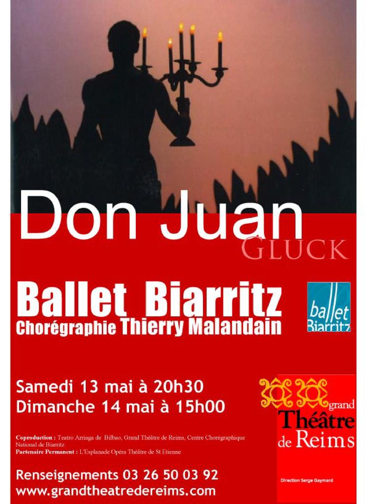 Affiche : Don Juan : Petits Riens (Les). 2005/2006 |