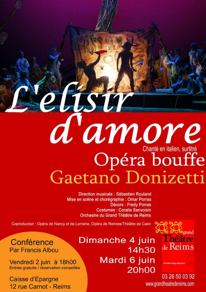 Affiche : Elisir d'amore (L'). 2005/2006 |