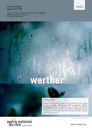 Werther. 2017/2018, Opéra national du Rhin |