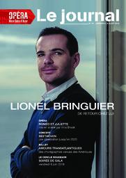 Le Journal n°41 Janvier-Juillet 2018. 2017/2018, Opéra Nice Côte d'Azur |