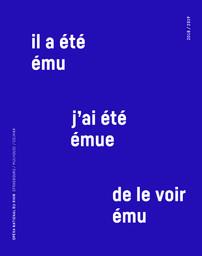 Opéra national du Rhin - Brochure de saison. 2018/2019, Opéra national du Rhin |