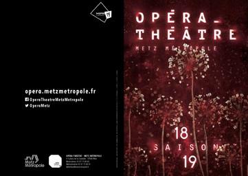 Opéra de Metz Métropole - Brochure de saison. 2018/2019, Opéra de Metz Métropole |