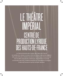 Théâtre Impérial de Compiègne - Brochure de Saison. 2019/2020, Théâtre Impérial de Compiègne |