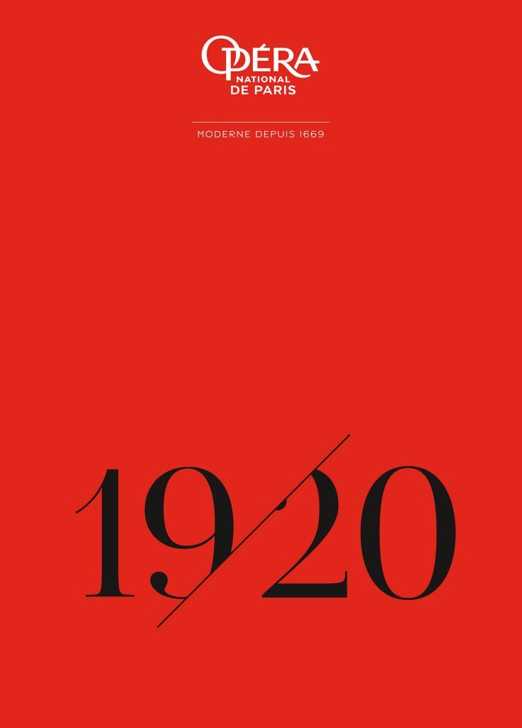 Opéra national de Paris - Brochure de saison. 2019/2020, Opéra national de Paris |
