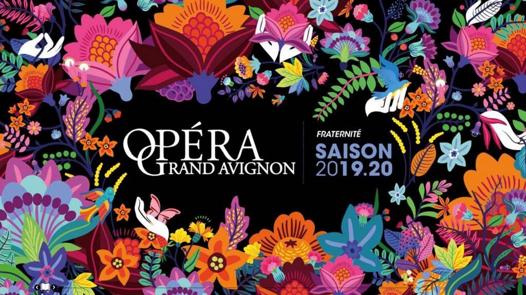 Opéra Grand Avignon - Brochure de Saison. 2019/2020, Opéra Grand Avignon |