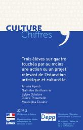 Trois élèves sur quatre touchés par une action ou un projet d'éducation artistique et culturelle [CC-2019-3] |