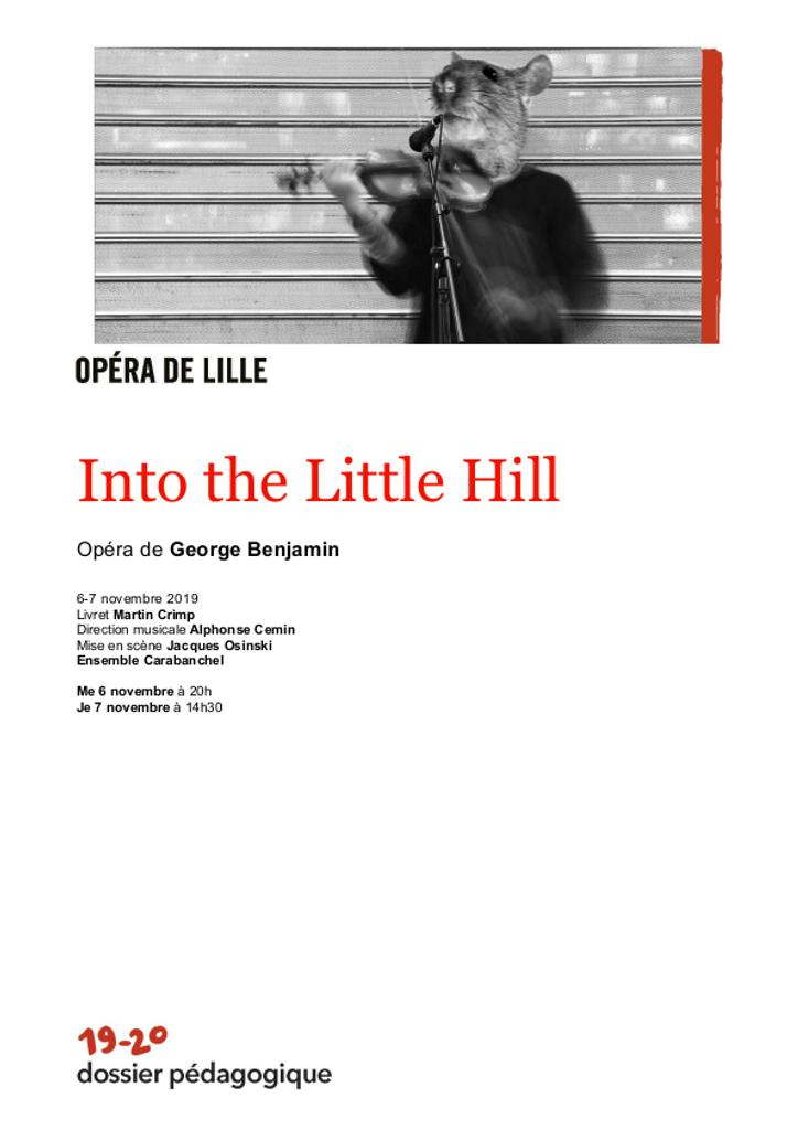Dossier pédagogique : Into the Little Hill. 2019/2020, Opéra de Lille |