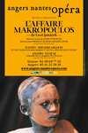 Affiche : Affaire Makropoulos (L'). 2009/2010, Angers Nantes Opéra |