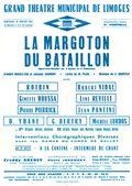 Affiche : Margoton du bataillon (La). 1964/1965, Opéra Théâtre de Limoges |