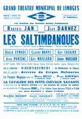 Affiche : Saltimbanques (Les). 1964/1965, Opéra Théâtre de Limoges |